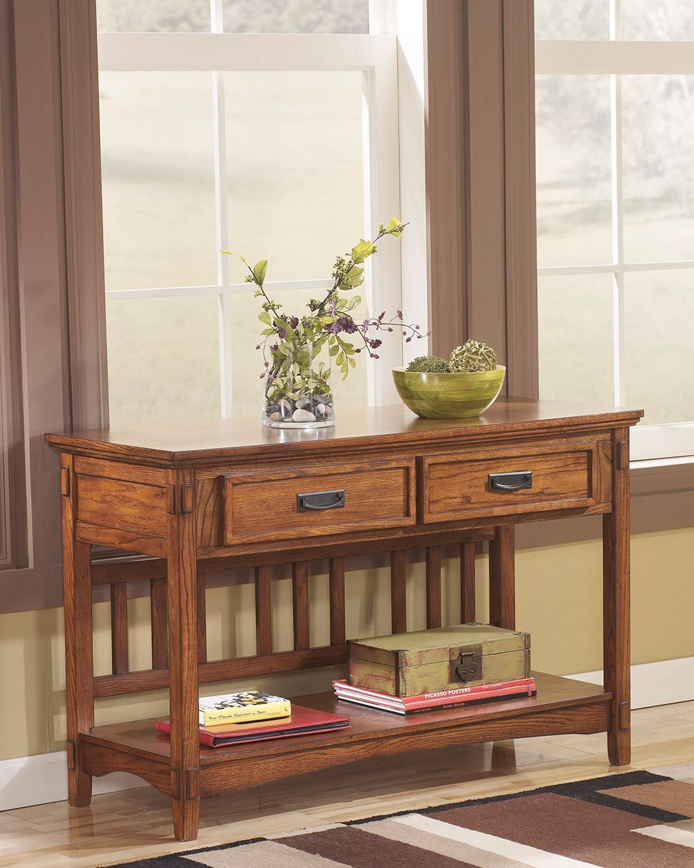 Picture of Cross Island Console Sofa Table