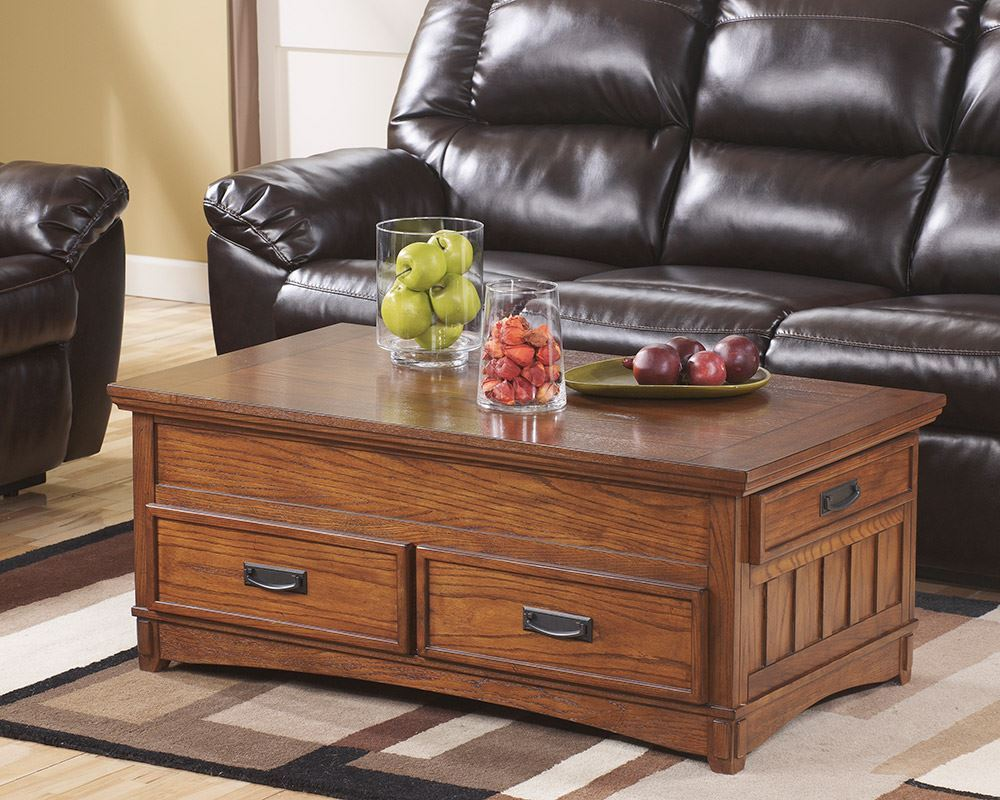 Picture of Cross Island Lift Top Coffee Table