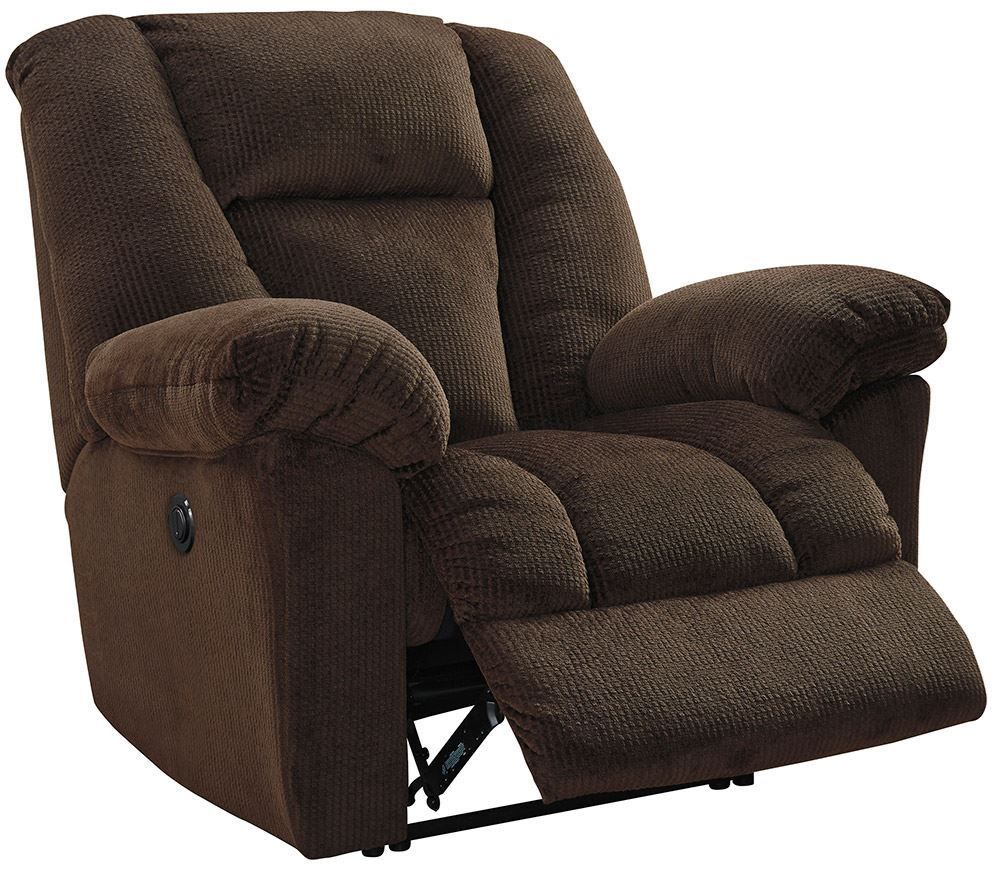 Picture of Nimmons Chocolate Power Recliner