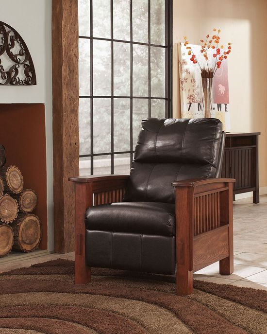 Picture of Santa Fe Chocolate Recliner