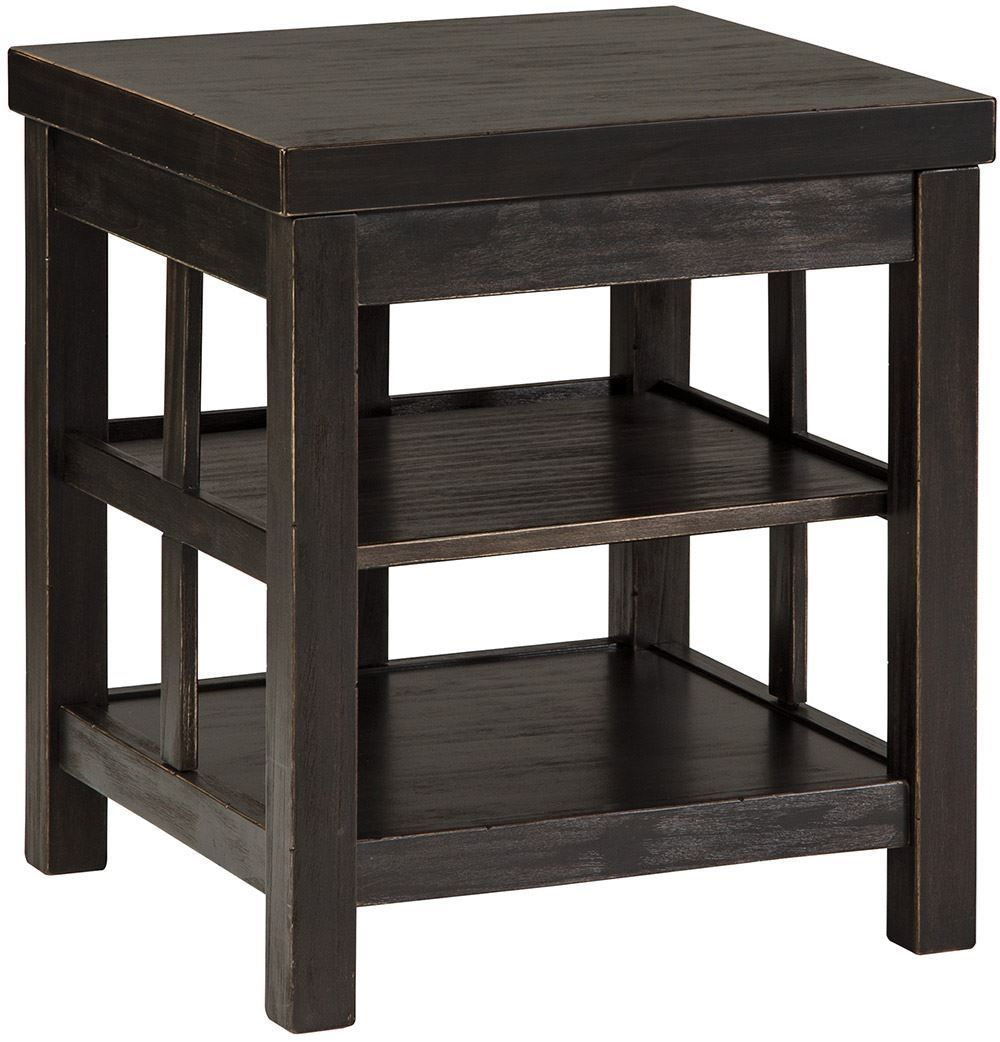 Picture of Gavelston Double Shelf End Table