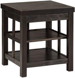 Gavelston Double Shelf End Table