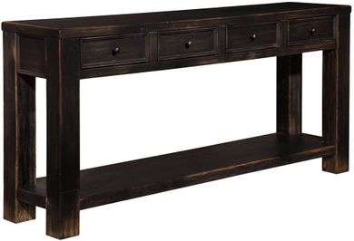 Gavelston Four Drawer Sofa Table