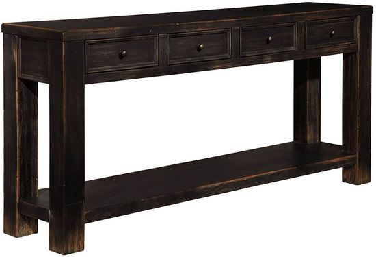 Picture of Gavelston Four Drawer Sofa Table