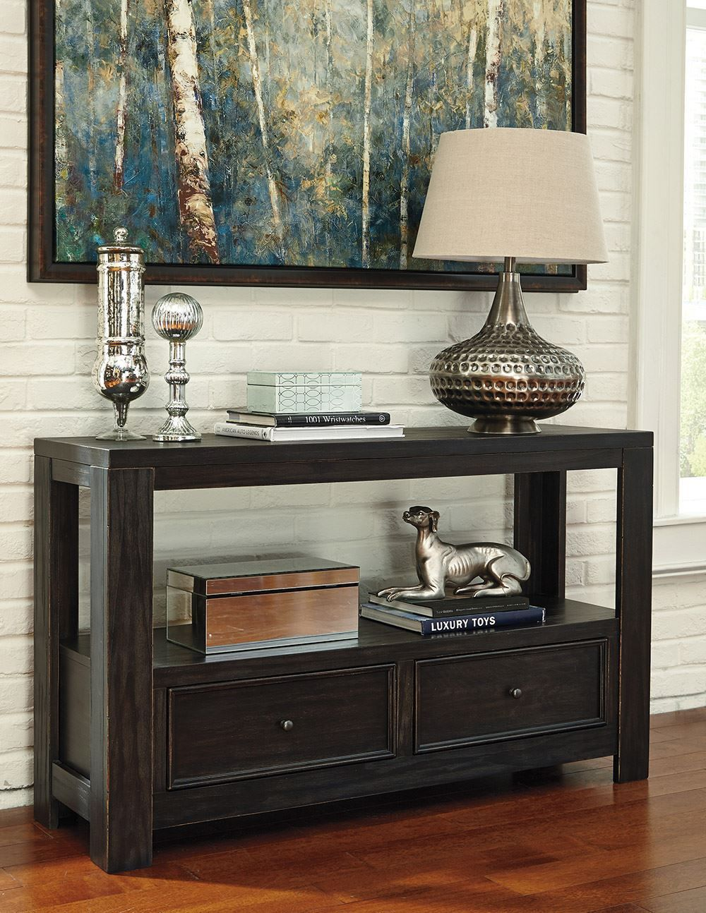 Picture of Gavelston Two Drawer Sofa Table