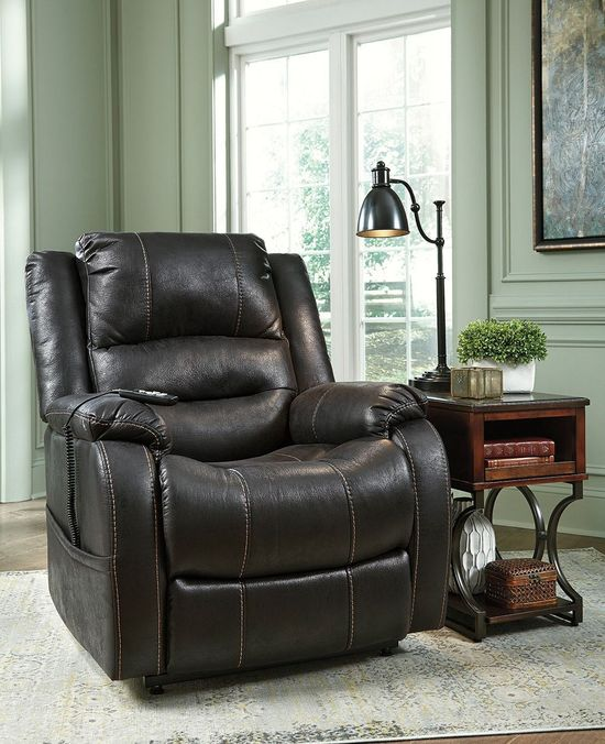 Picture of Yandel Black Power Lift Recliner