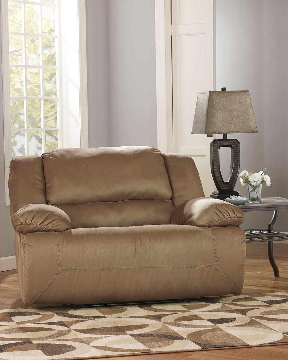 Picture of Hogan Mocha Wideseat Recliner