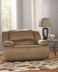 Hogan Mocha Wideseat Recliner