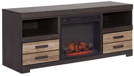 Harlinton Fireplace Television Stand