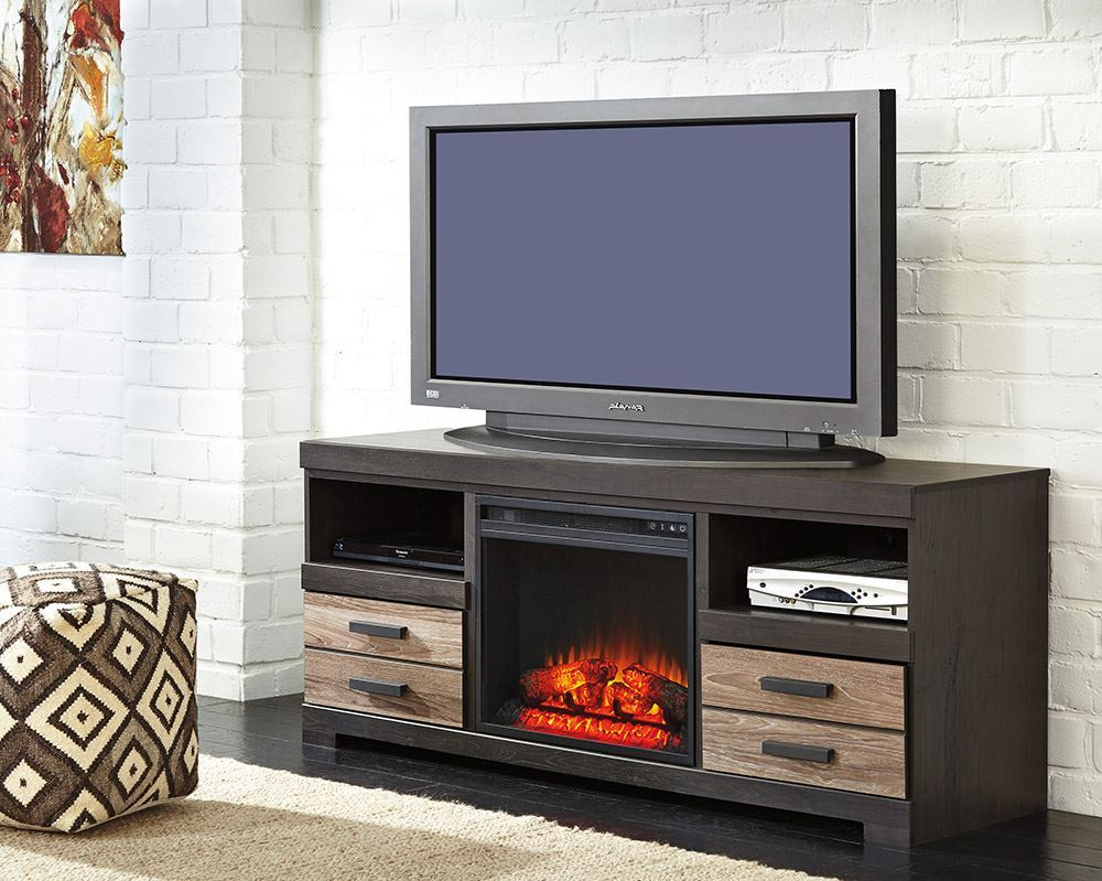 Picture of Harlinton Fireplace Television Stand