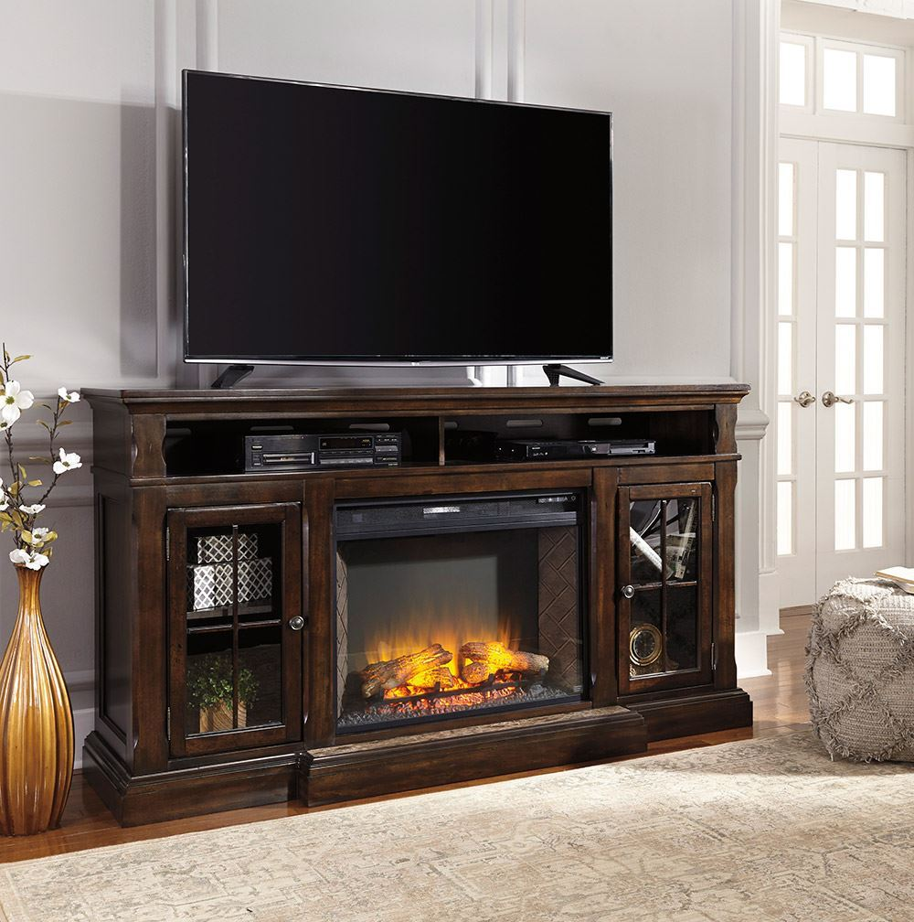 Picture of Roddinton Fireplace Television Stand