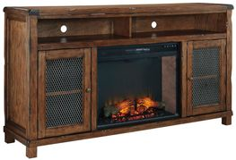 Tamonie Fireplace Television Stand