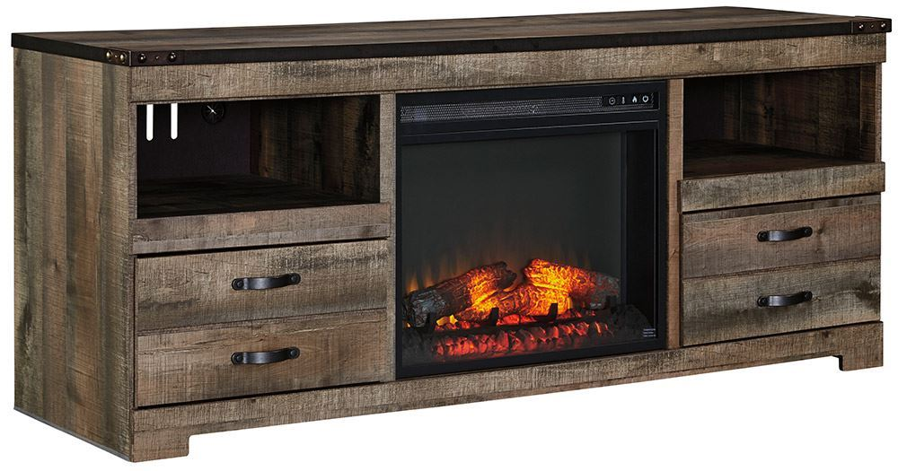 Picture of Trinell Fireplace Television Stand