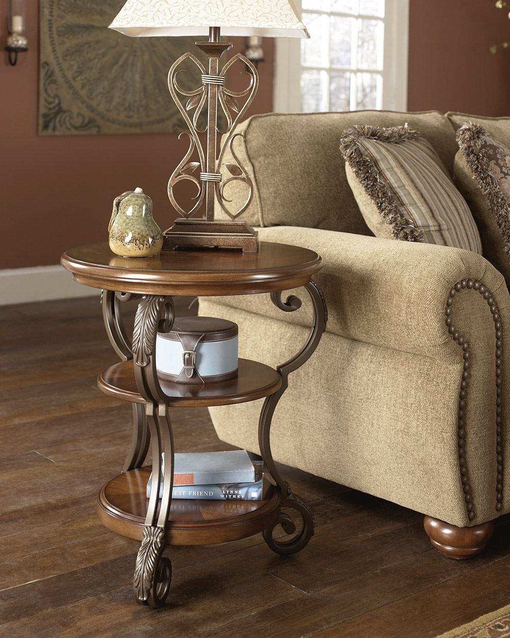 Picture of Nestor Round Chairside End Table
