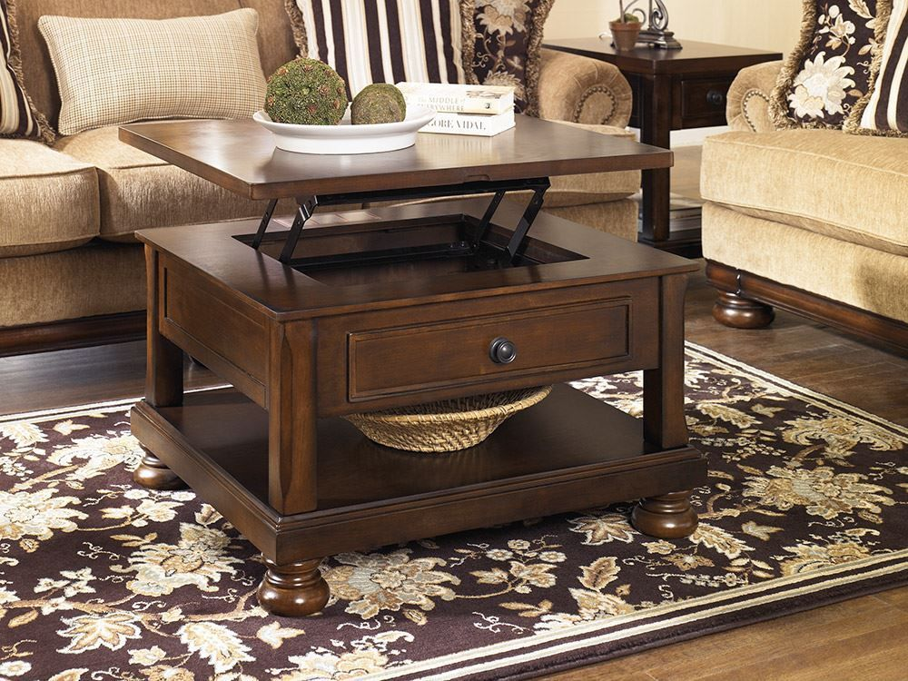 Porter Lift Top Coffee Table Unclaimed Freight Furniture