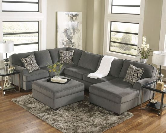 Picture of Loric Smoke Sectional