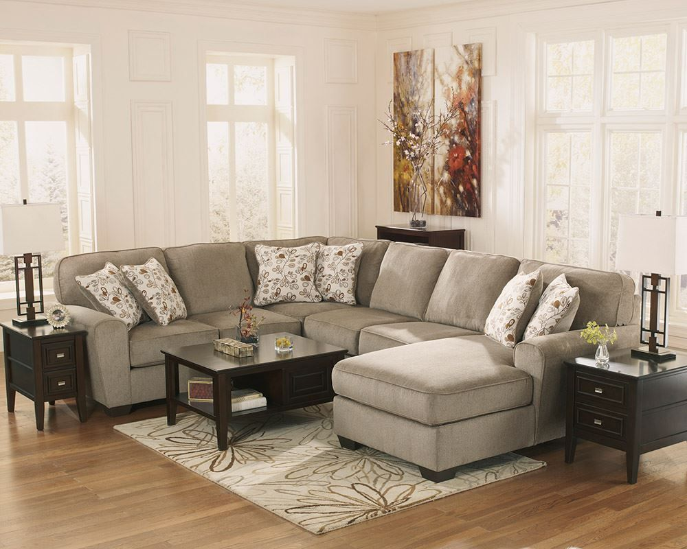 Picture of Patola Park Patina Four Piece Sectional
