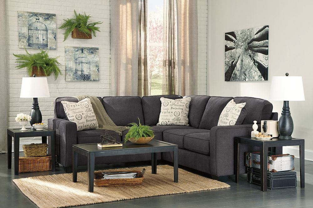 Picture of Alenya Charcoal Two Piece Sectional