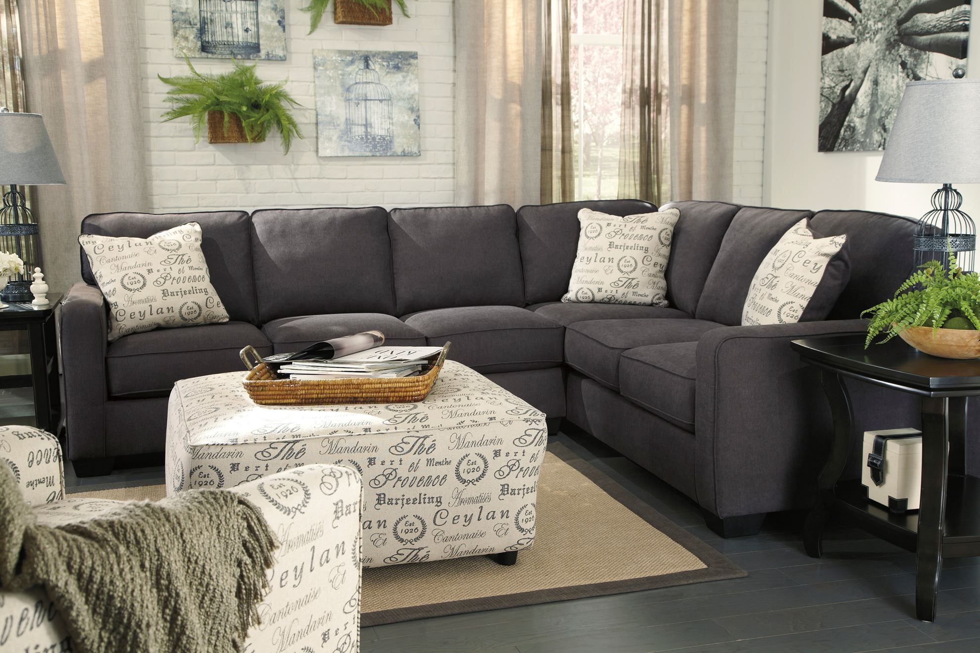 Picture of Alenya Charcoal Three Piece Sectional