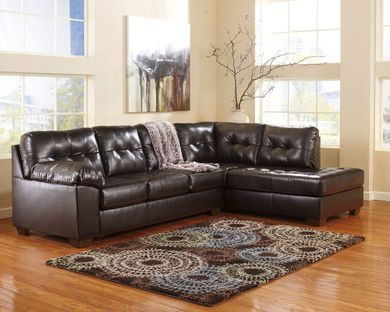 Alliston DuraBlend Chocolate Sectional