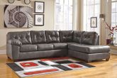 Alliston Gray Two Piece Sectional