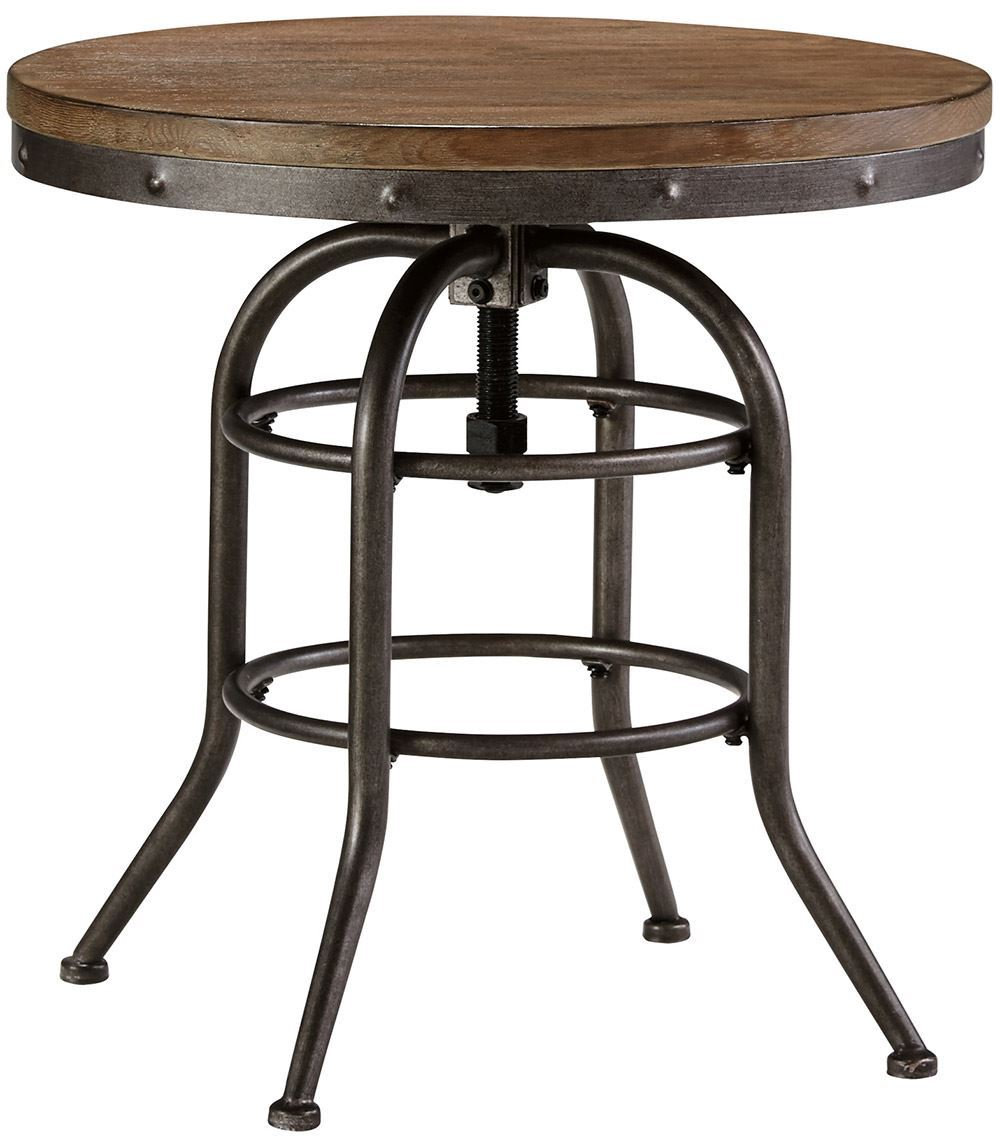Picture of Rustic Accents Round End Table