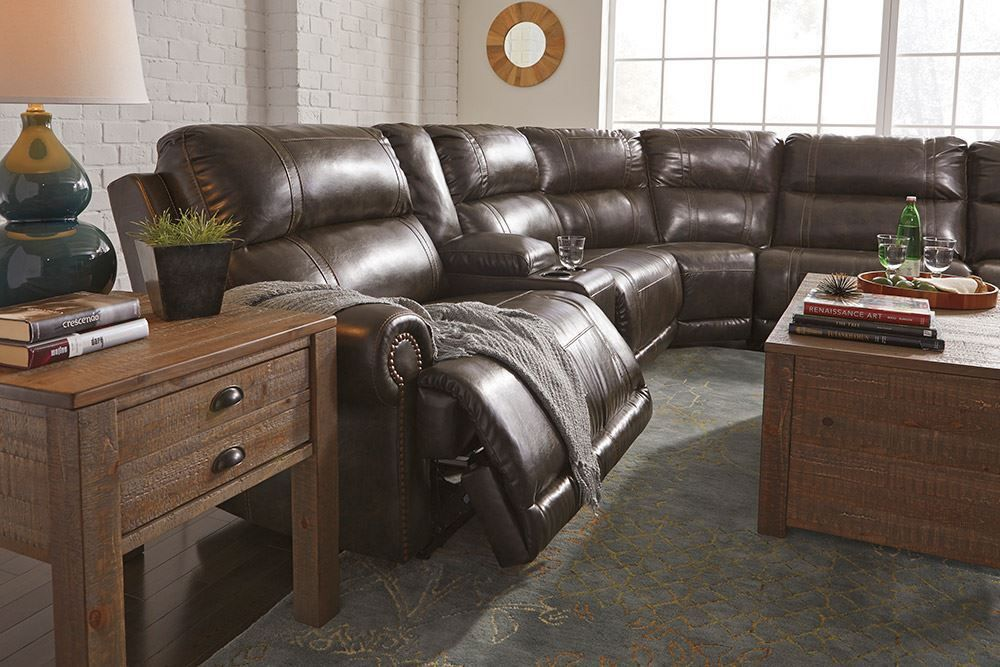Picture of Dark Antique Sectional
