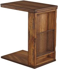 Tamonie Brown Chairside End Table