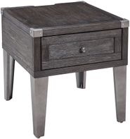 Todoe Gray End Table