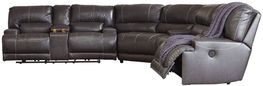 McCaskill Gray Power Reclining Sectional