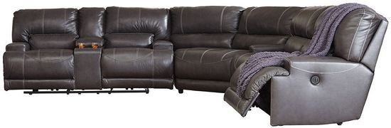 Picture of McCaskill Gray Power Reclining Sectional