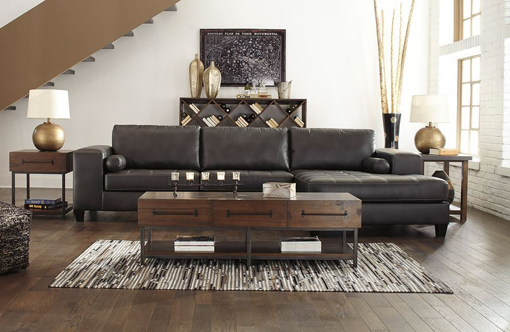 Picture of Nokomis Charcoal Sectional