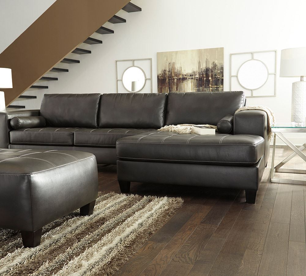 Sectional Sofas Kijiji Kitchener: Nokomis Charcoal Sectional