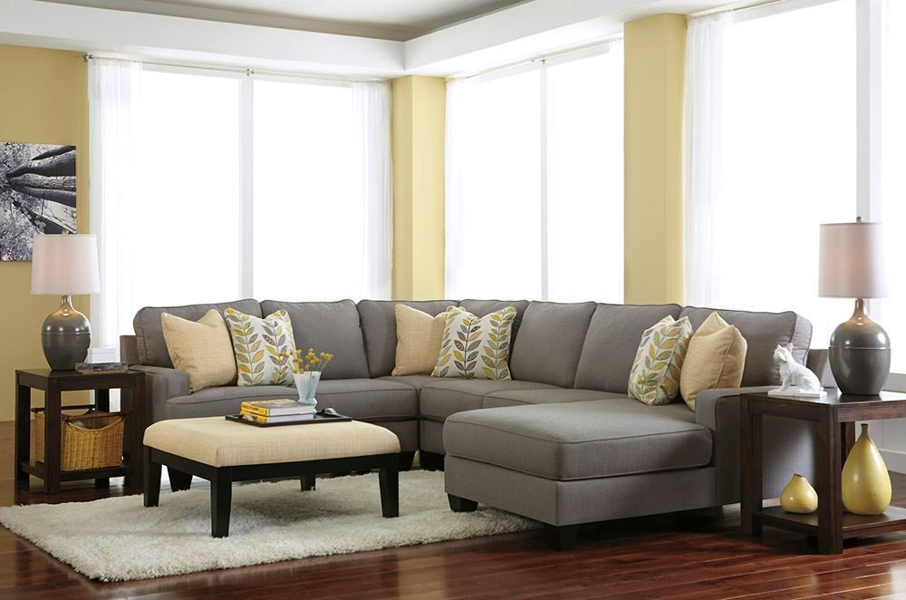 Picture of Chamberly Alloy Oversized Ottoman