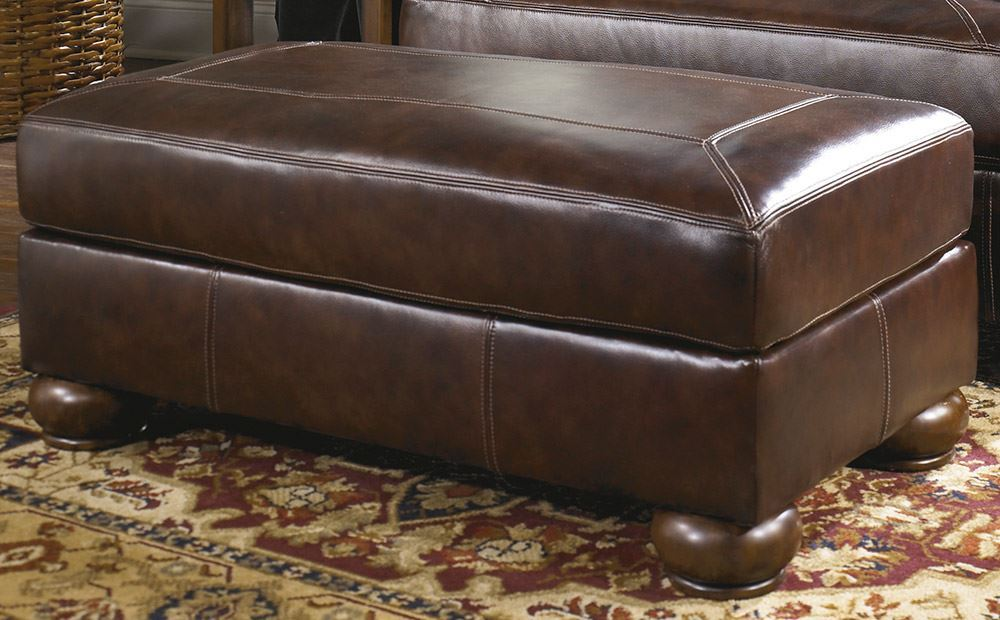 Picture of Axiom Walnut Ottoman
