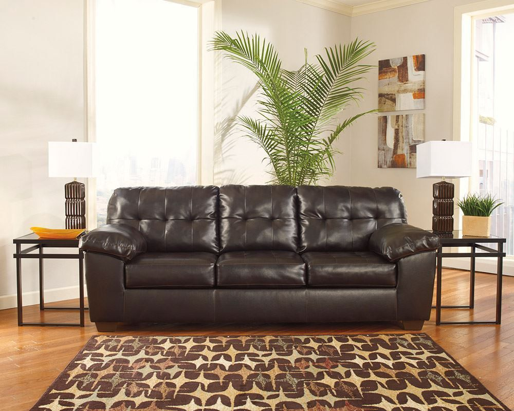 Alliston Chocolate Queen Sleeper Sofa Unclaimed Freight