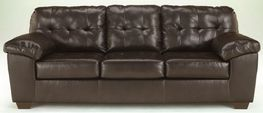 Alliston Chocolate Queen Sleeper Sofa