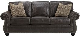 Breville Charcoal Queen Sleeper Sofa