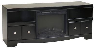 Shay Television Stand with Fireplace