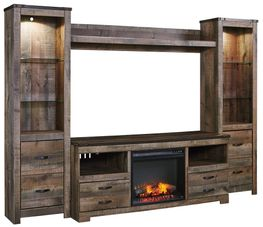 Trinell Fireplace Entertainment Wall