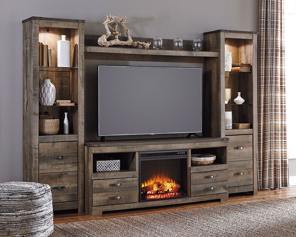 Picture of Trinell Fireplace Entertainment Wall