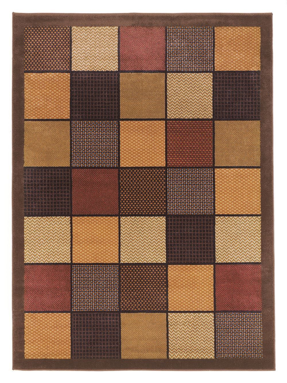 Patchwork 5x7 Rug The Furniture Mart