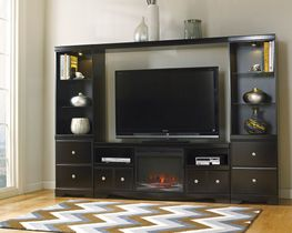Shay Fireplace Entertainment Wall
