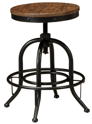 Pinnadel 24 inch Swivel Stool