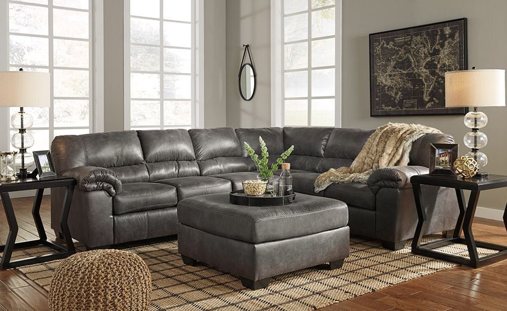 Picture of Bladen Slate Three Piece Sectional