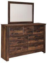 Quinden Dresser and Mirror Set