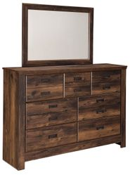 Quinden Dresser and Mirror Set
