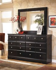 Shay Dresser and Mirror Set