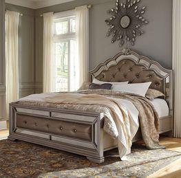 Birlanny Upholstered King Bed Set