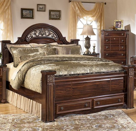 Picture of Gabriela Queen Storage Bed Set